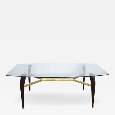 Mid Century Modern Dining Table in the Manner of Ico Parisi