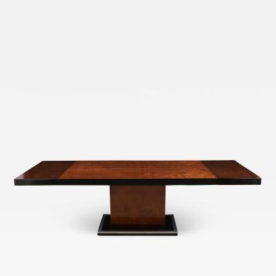 Mid Century Modern Extendable Dining Table