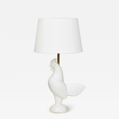 Mid Century Modern French ceramic Table Lamp