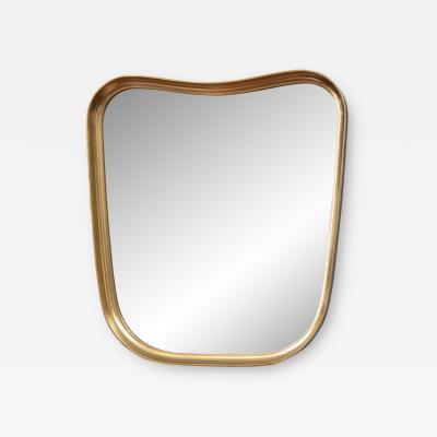 Mid Century Modern Giltwood Wall Mirror