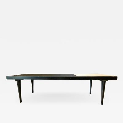 Mid Century Modern Herman Miller George Nelson Style Coffee Cocktail Table Bench