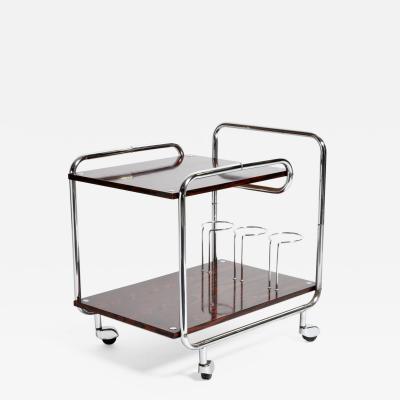Mid Century Modern Hungarian Bar Cart