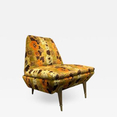 Mid Century Modern Italian Lounge Chair