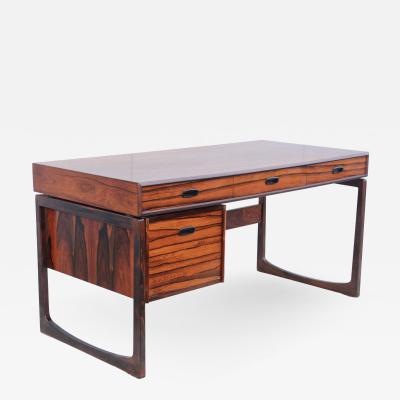 Mid Century Modern Rosewood Norwegian Desk
