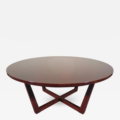 Mid Century Modern Round Coffee Table