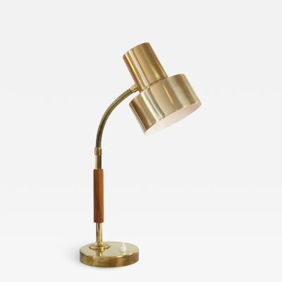 Mid Century Modern Swedish Cone Table Lamp