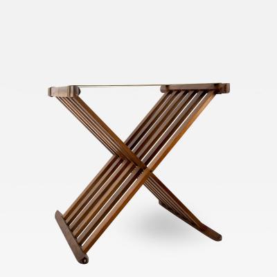 Mid Century Modern Teak Wood Stand