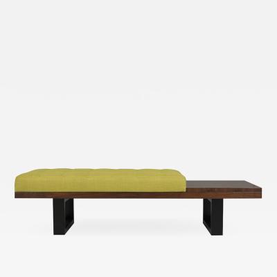 Mid Century Modern Tufted Bench