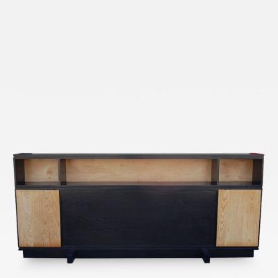 Mid Century Modern Two Tone Headboard