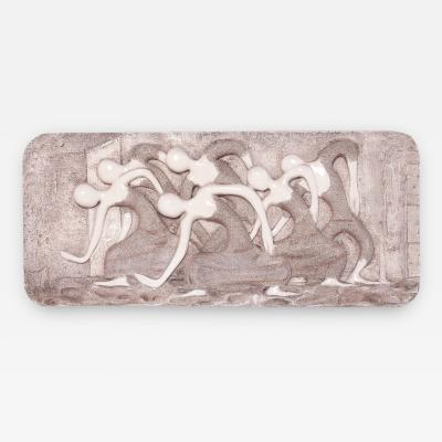 Mid Century Modern Wall Finesse Relief Sculpture