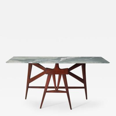 Mid Century Modern console table in the manner of Enzo Mari