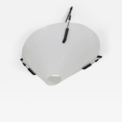 Mid Century Quark 2815 Flush Ceiling Light by Elio Martinelli for Luce