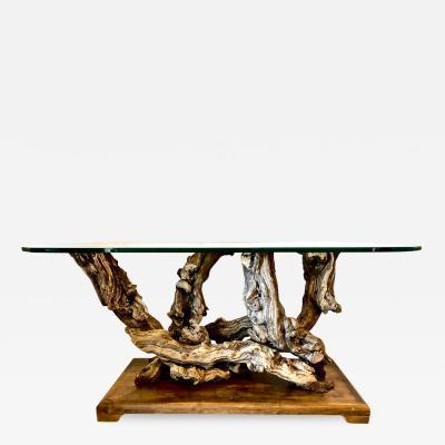 Mid Century Root Table