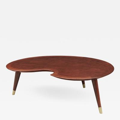 Mid Century Sculptural Coffee Table