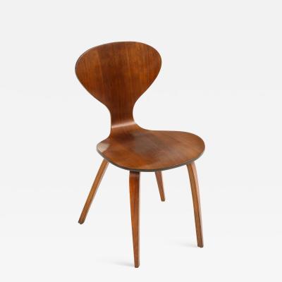 Mid Century Walnut Side Chair