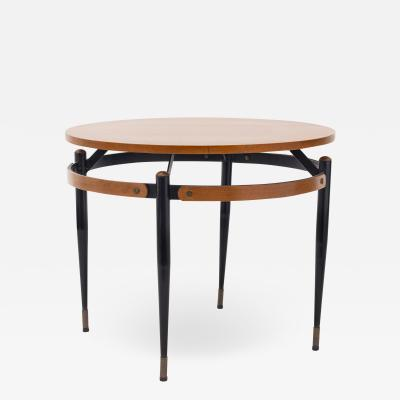Mid Century round cocktail table