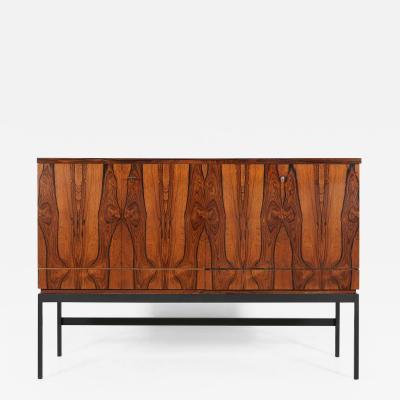 Mid century bar cabinet