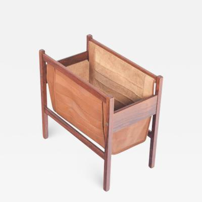 Midcentury Danish Rosewood Magazine Holder