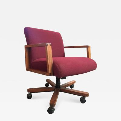 Midcentury Walnut Desk Chair