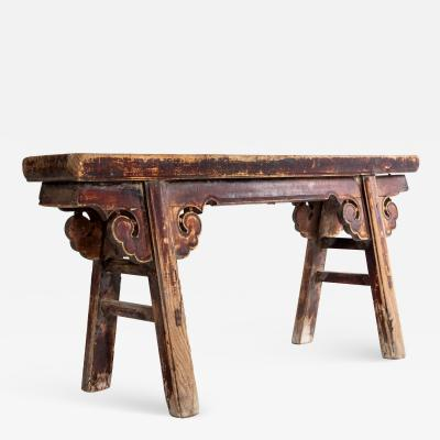 Middle Qing Dynasty Bench