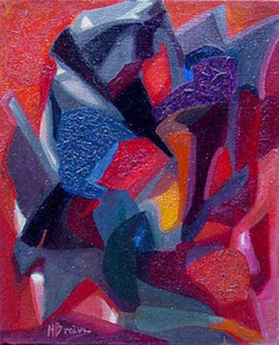 Miette Braive Figure Abstract