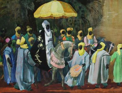 Millard Owen Sheets African Parade