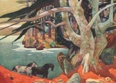 Millard Owen Sheets Monterey Cypress