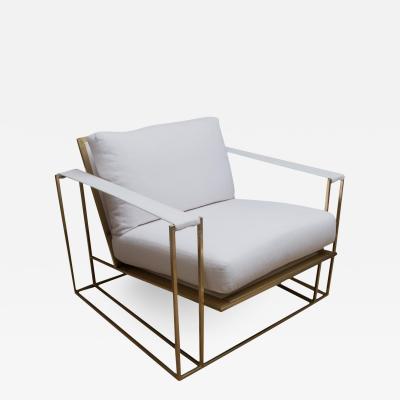 Milo Baughman 1970s Sling Chair Designed by Milo Baughman