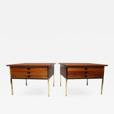 Milo Baughman Early Milo Baughman Side Tables for Arch Gordon