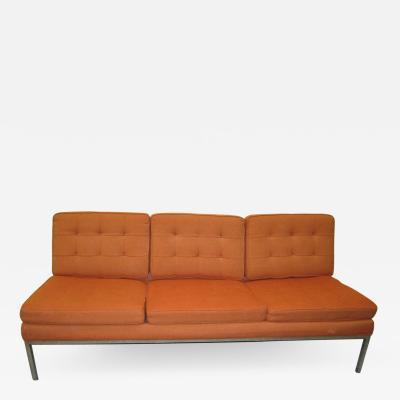 Milo Baughman Gorgeous Milo Baughman Signed Armless Sofa Mid century Modern