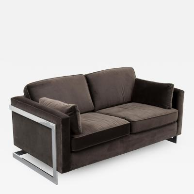 Milo Baughman Loveseat or Sofa