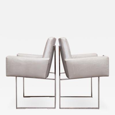 Milo Baughman Milo Baughman Arm Chairs