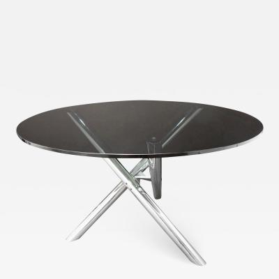 Milo Baughman Milo Baughman Attributed Sculptural Dining Game Table 1970s