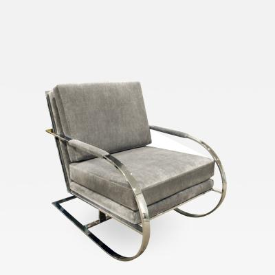 Milo Baughman Milo Baughman Cantilevered Lounge Chair 1970s