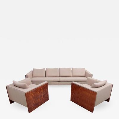 Milo Baughman Milo Baughman Case Sofa Set