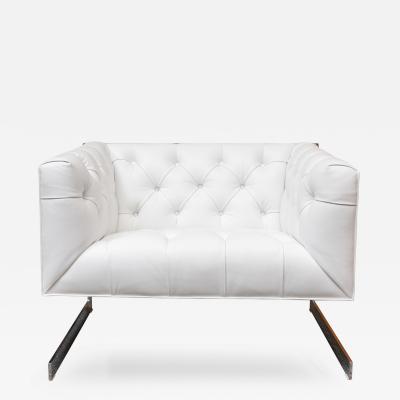 Milo Baughman Milo Baughman Cube Lounge Chair