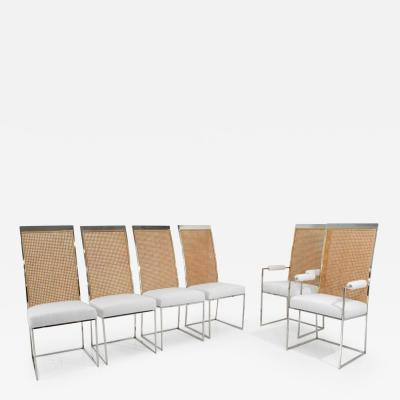 Milo Baughman Milo Baughman Dining Chairs in Holly Hunt Great Outdoors