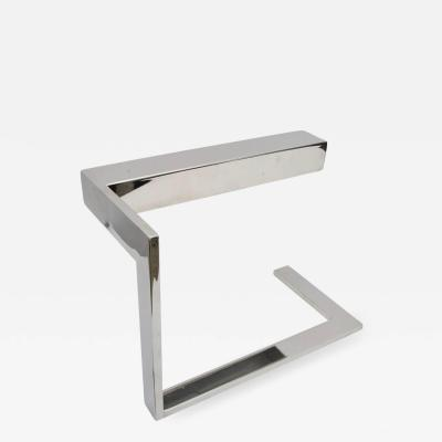 Milo Baughman Milo Baughman Flat Bar Desk Lamp in Polished Chrome