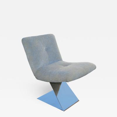 Milo Baughman Milo Baughman For Thayer Coggin Z Lounge Side Chair