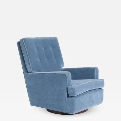 Milo Baughman Milo Baughman High Back Swivel Chair 1970