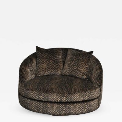Milo Baughman Milo Baughman Large Swivel Chair