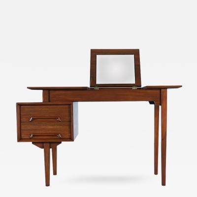 Milo Baughman Milo Baughman Perspective Vanity Desk for Drexel