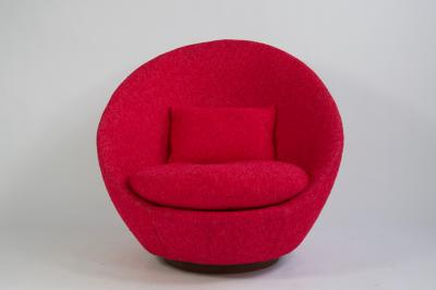 Milo Baughman Milo Baughman Swivel Lounge Chair
