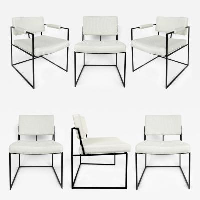 Milo Baughman Milo Baughman Thayer Coggin Dining Chairs Set of 6 circa 1971