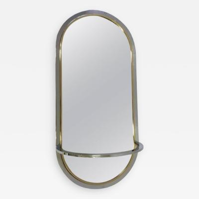 Milo Baughman Milo Baughman for DIA Mirror with Shelf