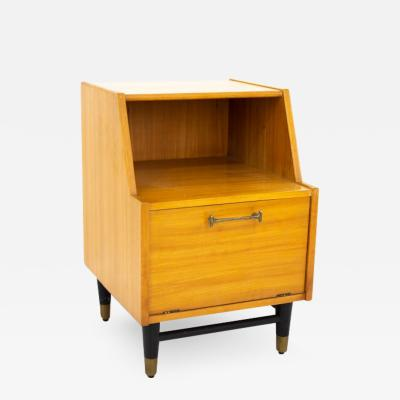 Milo Baughman Milo Baughman for Drexel New Todays Living Mid Century Nightstand