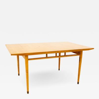 Milo Baughman Milo Baughman for Drexel Todays Living Mid Century Blonde Dining Table