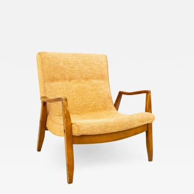 Milo Baughman Milo Baughman for James Inc Mid Century Scoop Lounge Chair
