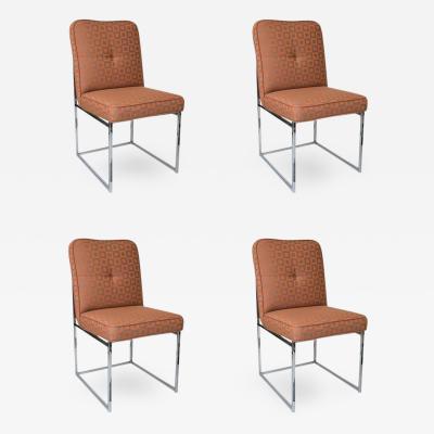 Milo Baughman Milo Baughman for Thayer Coggin Dining Chairs Set of 4