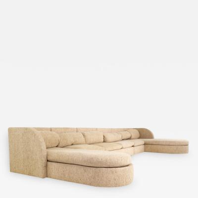 Milo Baughman Milo Baughman for Thayer Coggin Mid Century 6 Piece Sectional Sofa